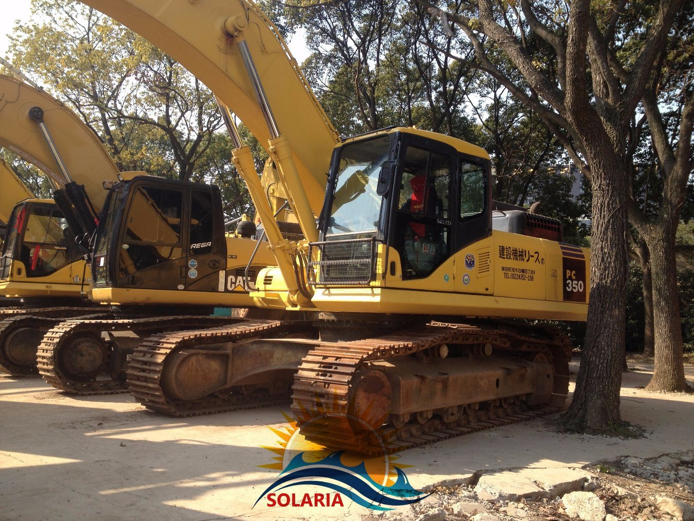Used Komatsu PC350-7 Crawler Excavator K...
