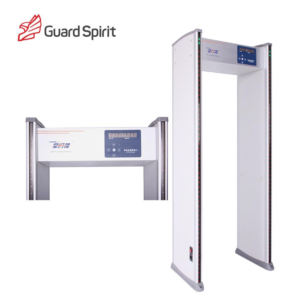 High Sensitivity 6 Zones Walk Through Metal Detector for Security Inspection
