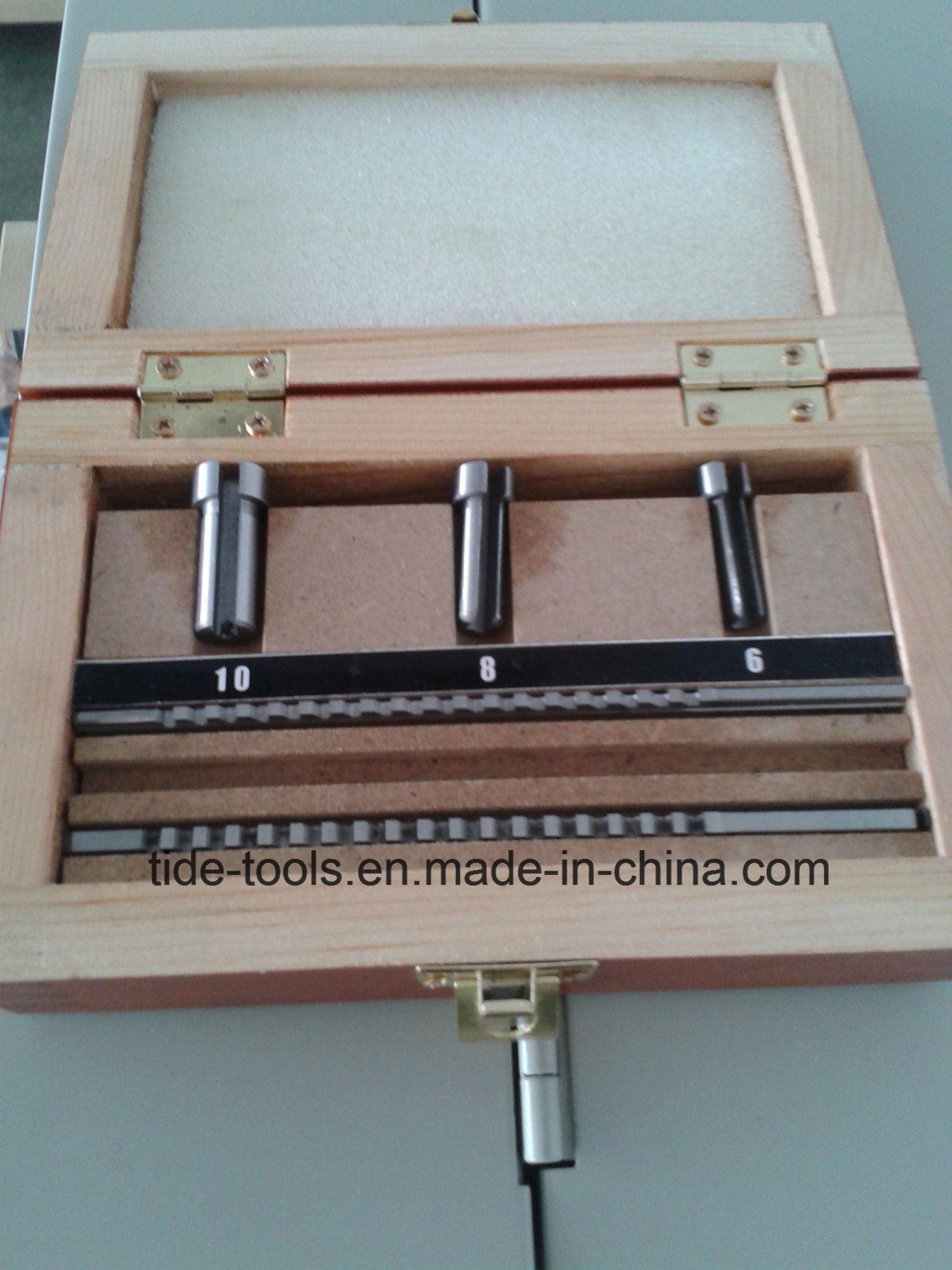 High Speed Steel Metric/Inch Keyway Broaches