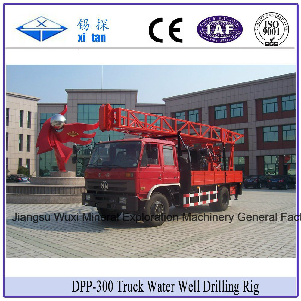 Xitan DDP-300 Truck Mounted Water Well Core Exploration Drilling Rig