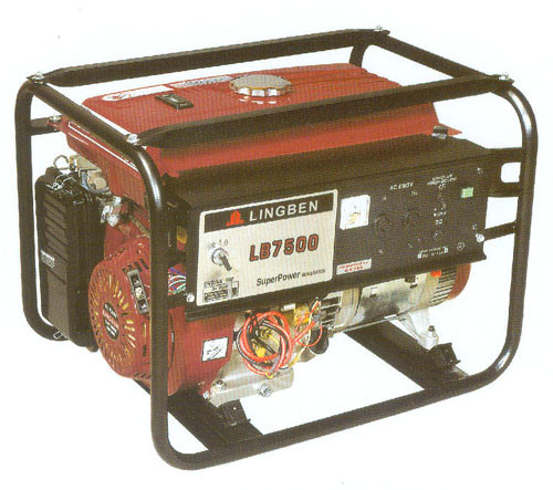 Small Electric Generator : China kw portable small gas electric generator sets