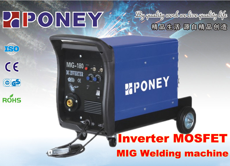 Inverter Gas Welding Machine Mosfet MIG-160/180/200