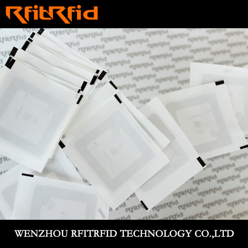 13.56MHz Programmable PVC MIFARE Classic NFC RFID Sticker Ticket