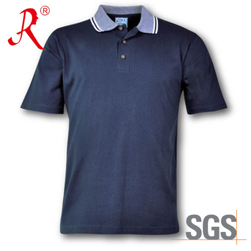 Men′ S Polo Leasure T- Shirt with Collared Slim (QF-2323)