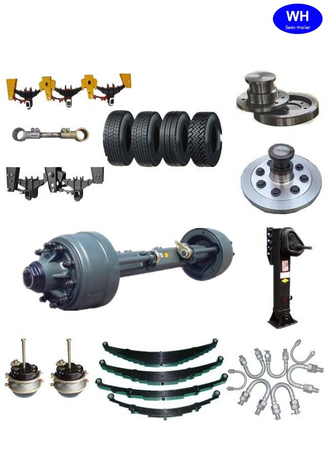Semi Truck Trailer ′s Suspension Parts of 11ton Germany Type