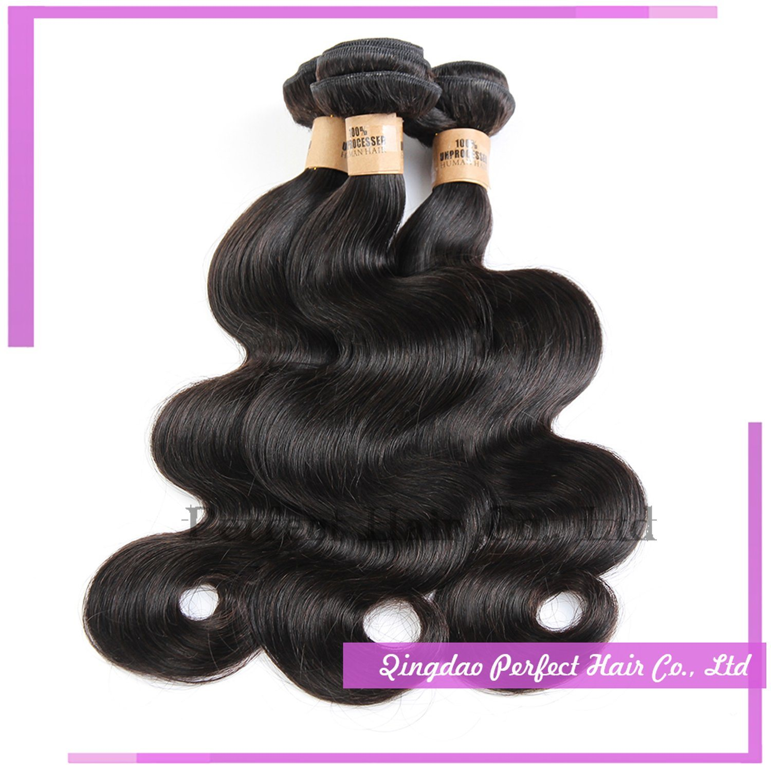 100% Brazilian Human Body Weave Hair Extensions