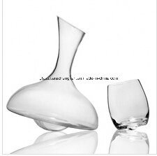 Hand Made Wine Glass Decanter and Glass Cup (XJQ-17)