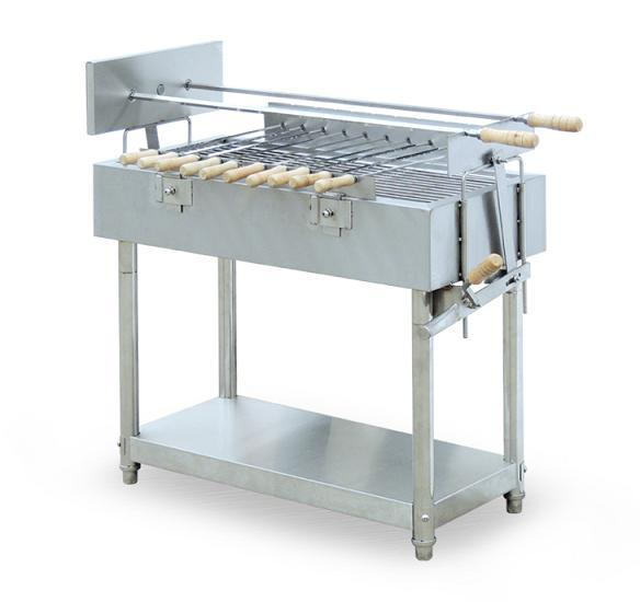 China stainless steel outdoor charcoal bbq grill