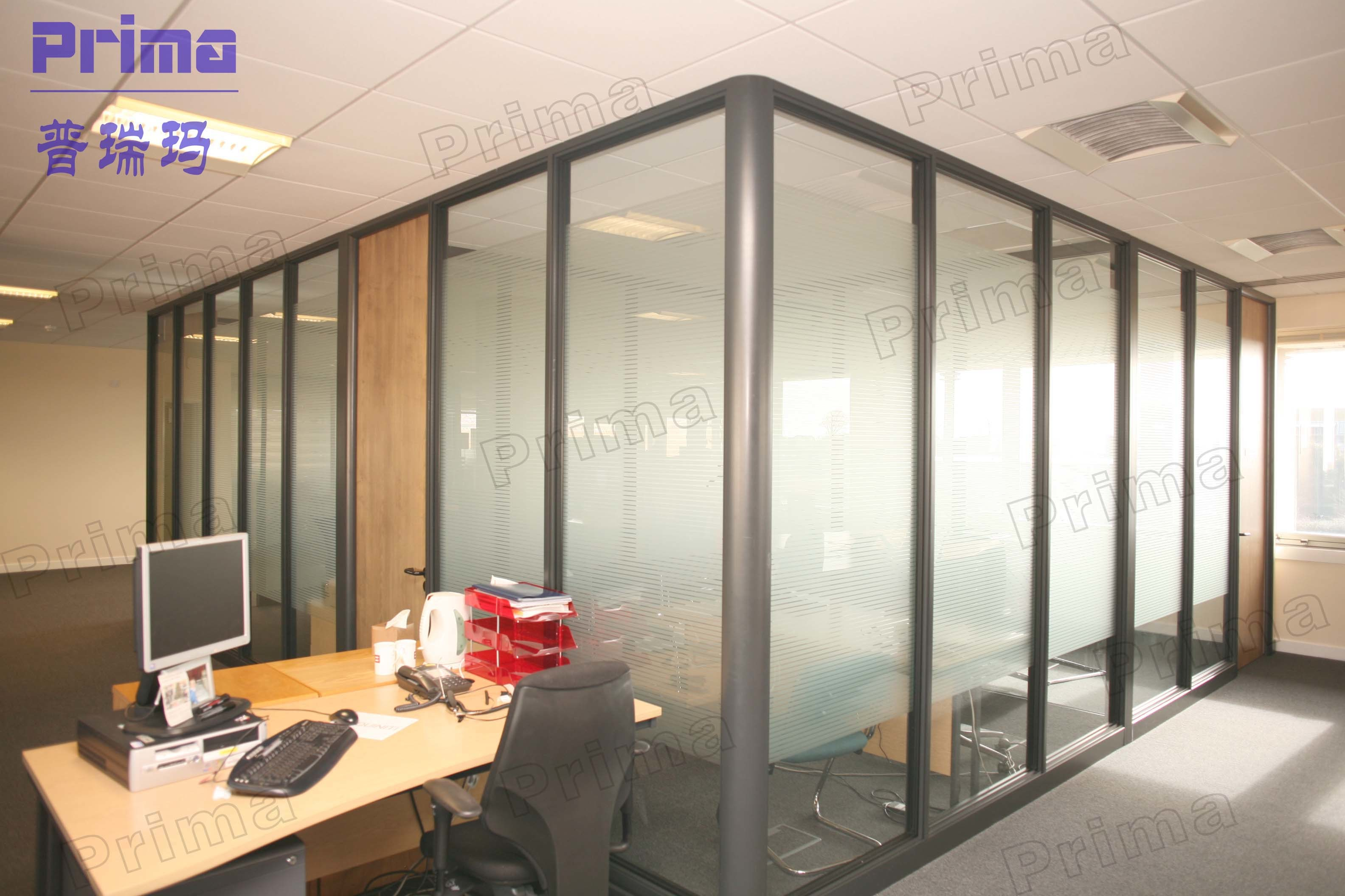 Building Material Office Glass Partition Wall