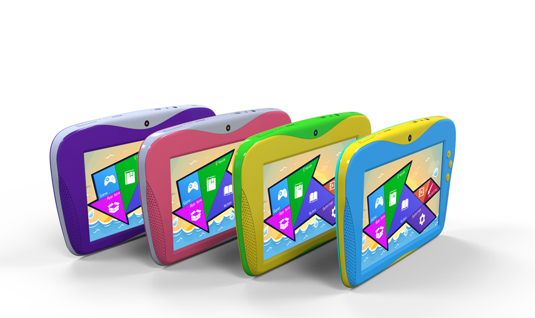 Cheapest 7 Inch 1GB RAM 4GB ROM Webcame 1024*600 Capacitive Screen Android 4.2 Children Kids Child MID