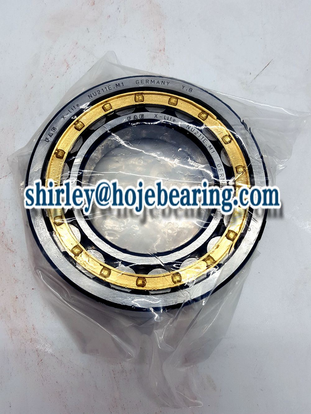 Flanged Automobile Cylindrical Roller Bearing Nup208 Nup2208 Nup308 Nup2308