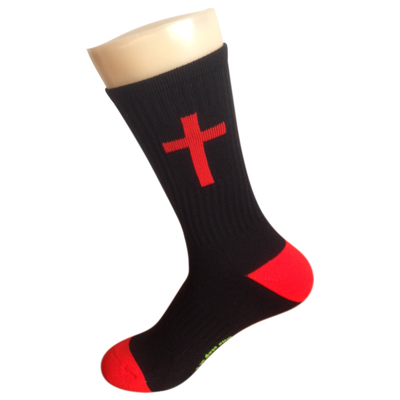 Nylon Color Cushion Socks for Church