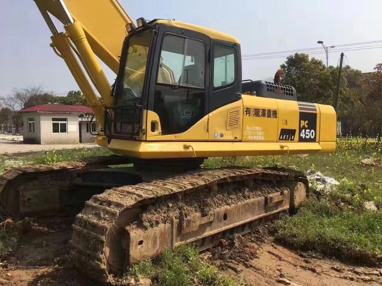 Very Good Working Condition Used Hydraulic Crawler Japanese Excavator Komatsu PC450-7 for Sale