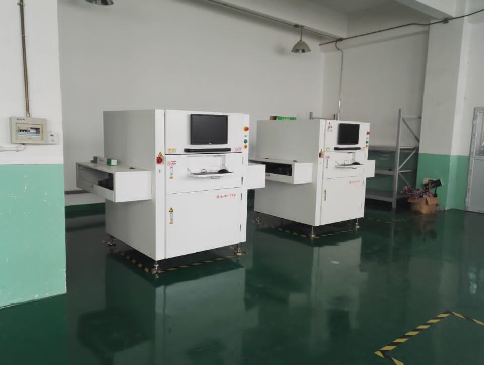 3D Solder Paste Inspection PCB Spi Machine Online Single Track