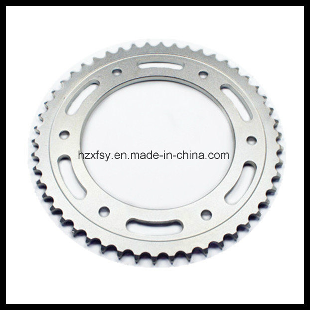 China Motorcycle Steering Parts of Rear Sprocket