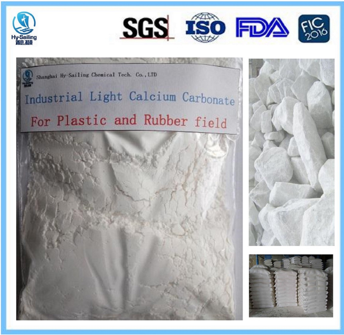 Industrial Light Calcium Carbonate CaCO3