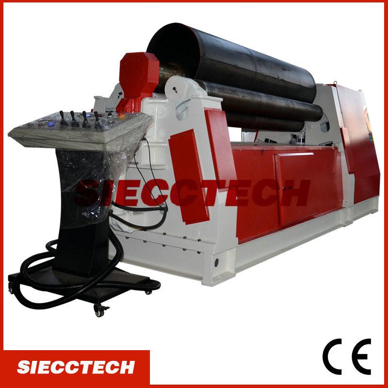 W12-30*3000 Hydraulic Plate Bending Roll Machine, 4 Rollers Plate Rolling Machine