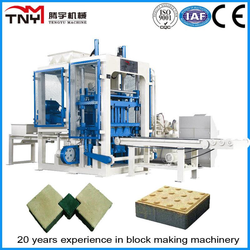 Brick Machine Price Concrete Brick Making Machine/Concrete Interlocking Block Machine (QT6-15)