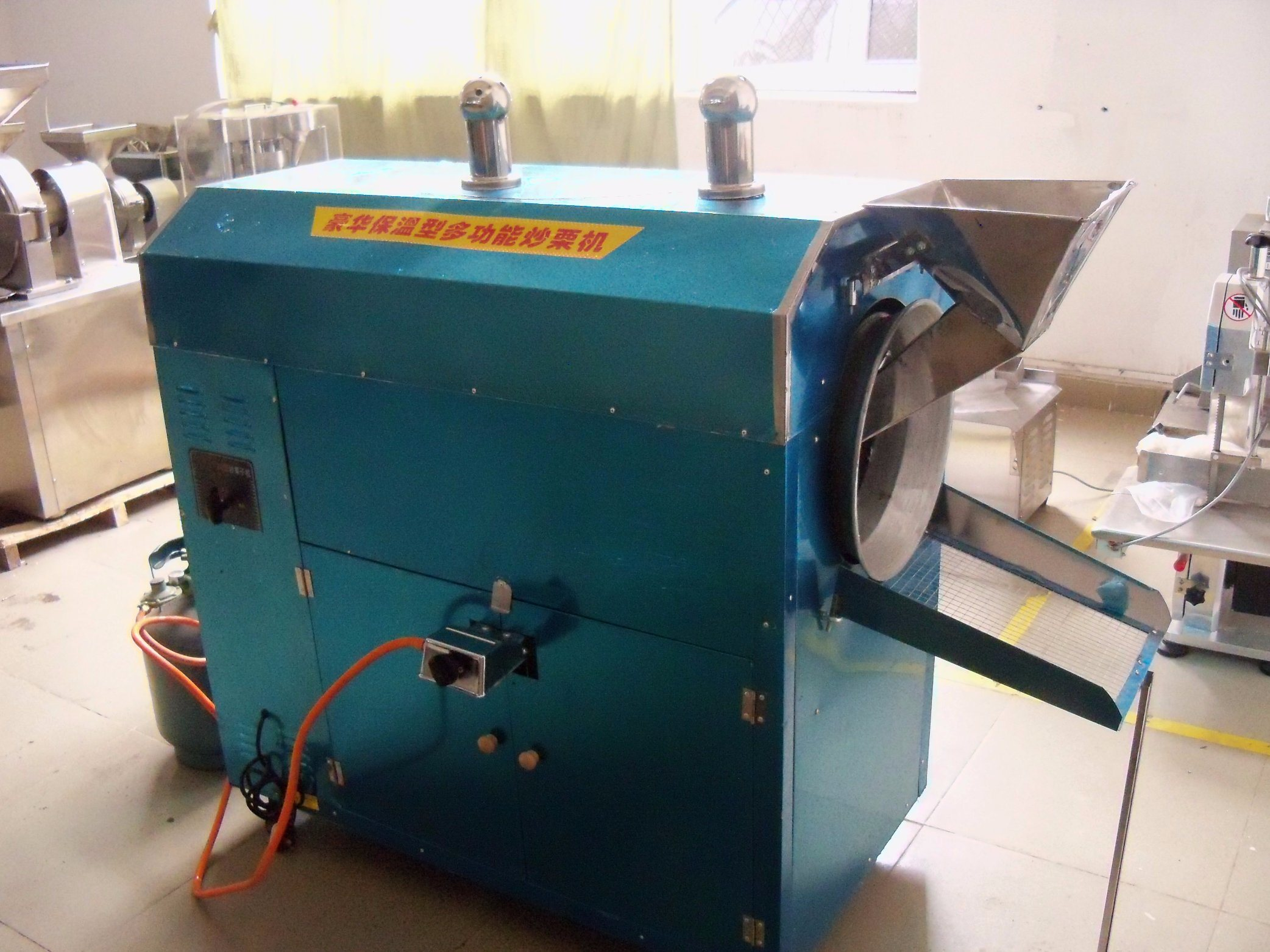 Factory Supply Peanut Roaster Machine with Ce
