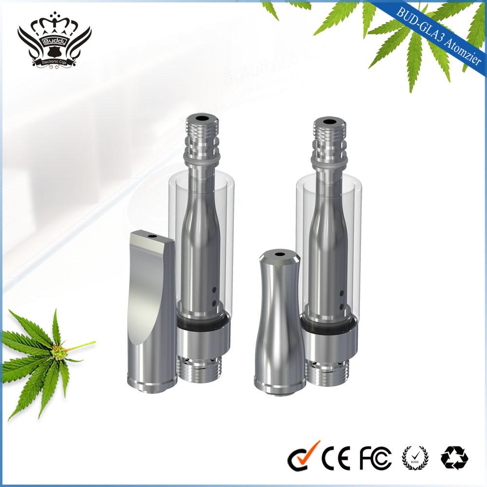 Free Sample Gla/Gla3 510 Glass Atomizer Cbd Vape Pen E Cigarette E Pipe