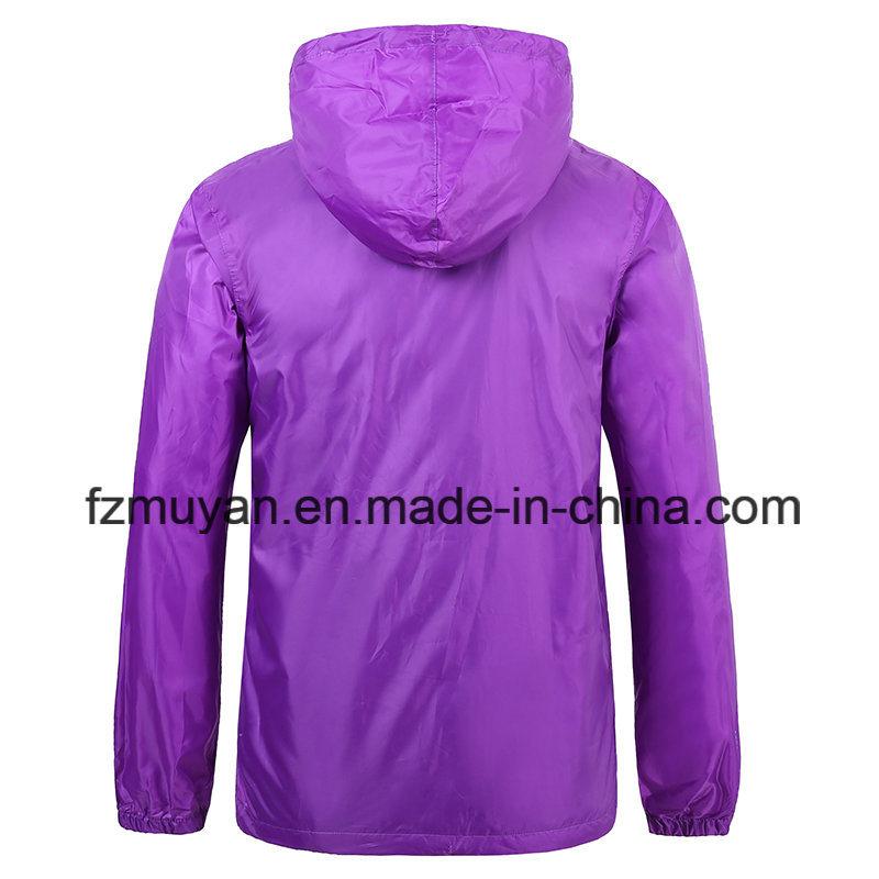 Hooded Waterproof Raincoat Jacket