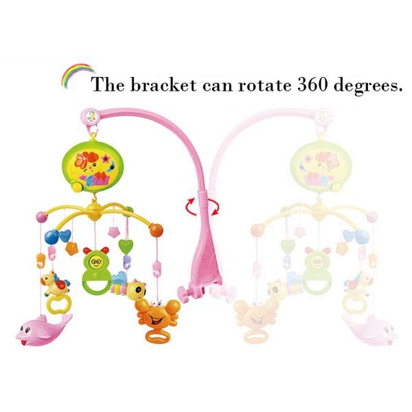 Baby B/O Products ABS Material Rotating Bed Bell Toy with Music and Light (10214174)
