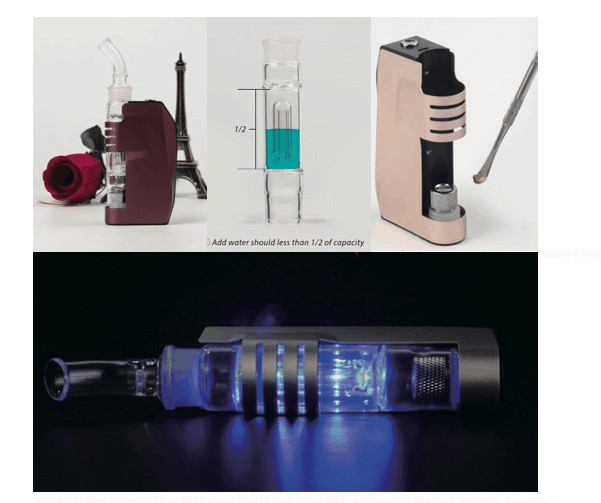 2016 Jomo Wax Vaporizer Dark Knight Spirit Best Price E Cigarette Battery Vaporizer