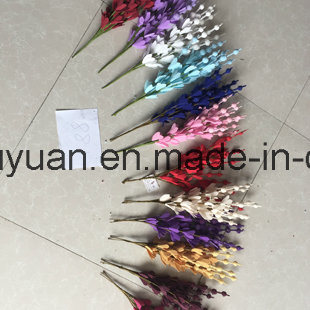 The Holiday Decoration with Artificial Flowers