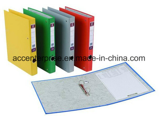A4, FC Single PVC Two Ring Binder