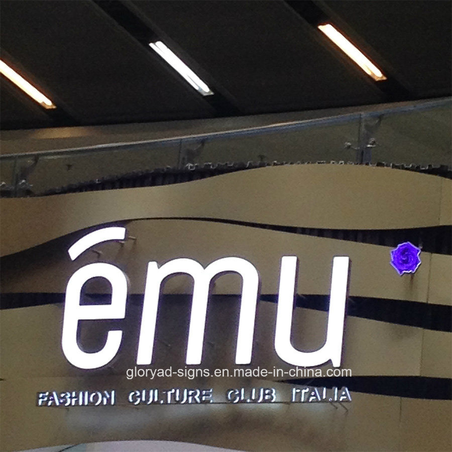 Shop Sign Epoxy Resin LED Channel Letters