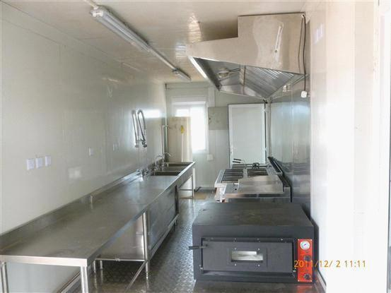 Modular Kitchen/Mobile Container Kitchen