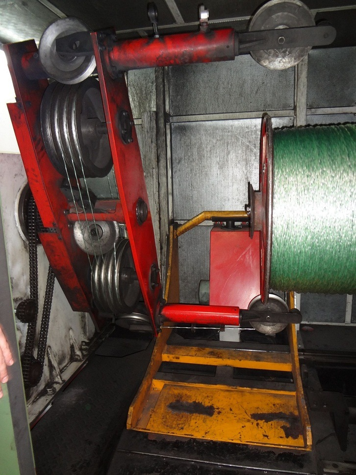 Single Twisting Machine with Capstan Inbuilt