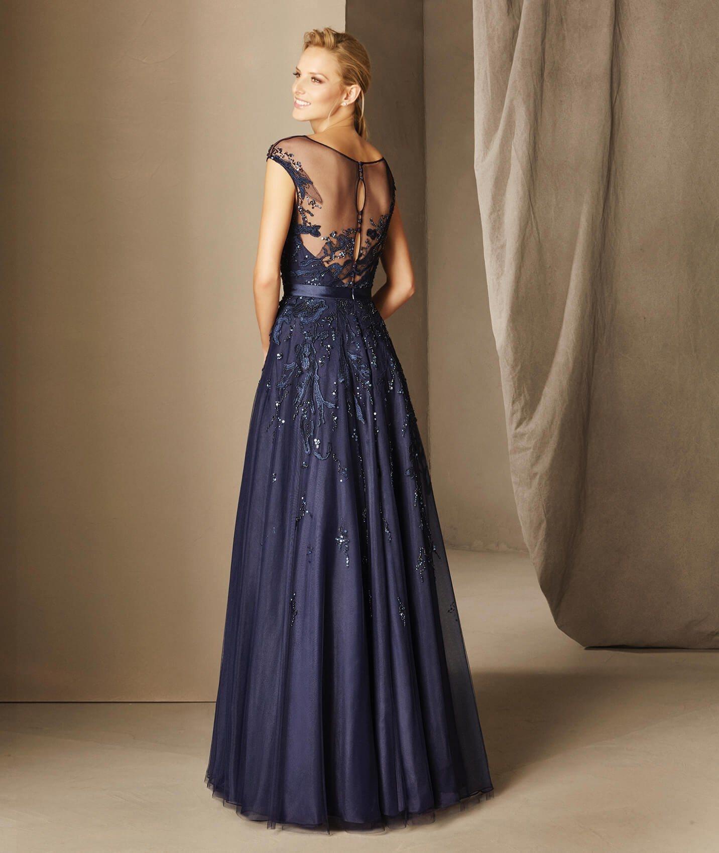 Best Selling Brand Name Floor Length A-Line Side Slit V-Neck Backless Big Size Women Dress Evening Dress (WD72)