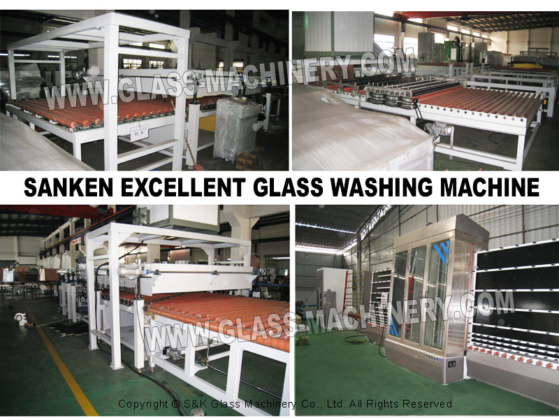 Skw-2000A Horizontal Glass Washing Machine