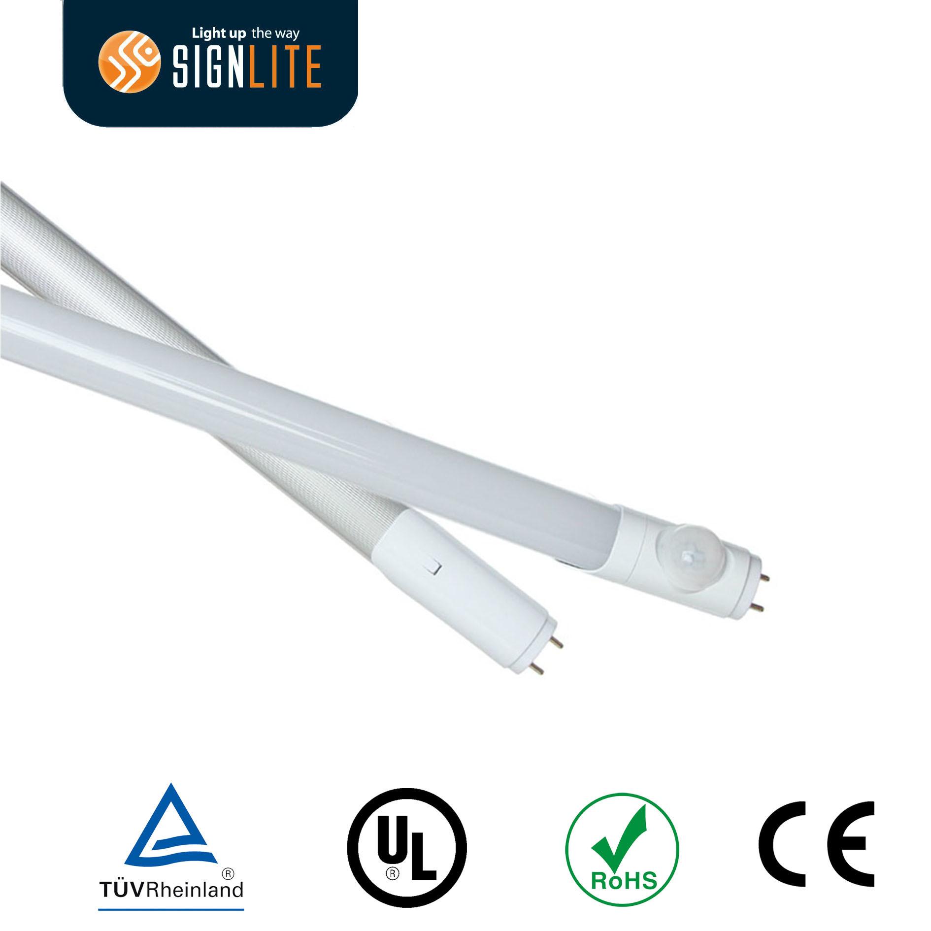 Infrared Sensor 1.2m T8 LED Tube Light/LED T8 Tube Light