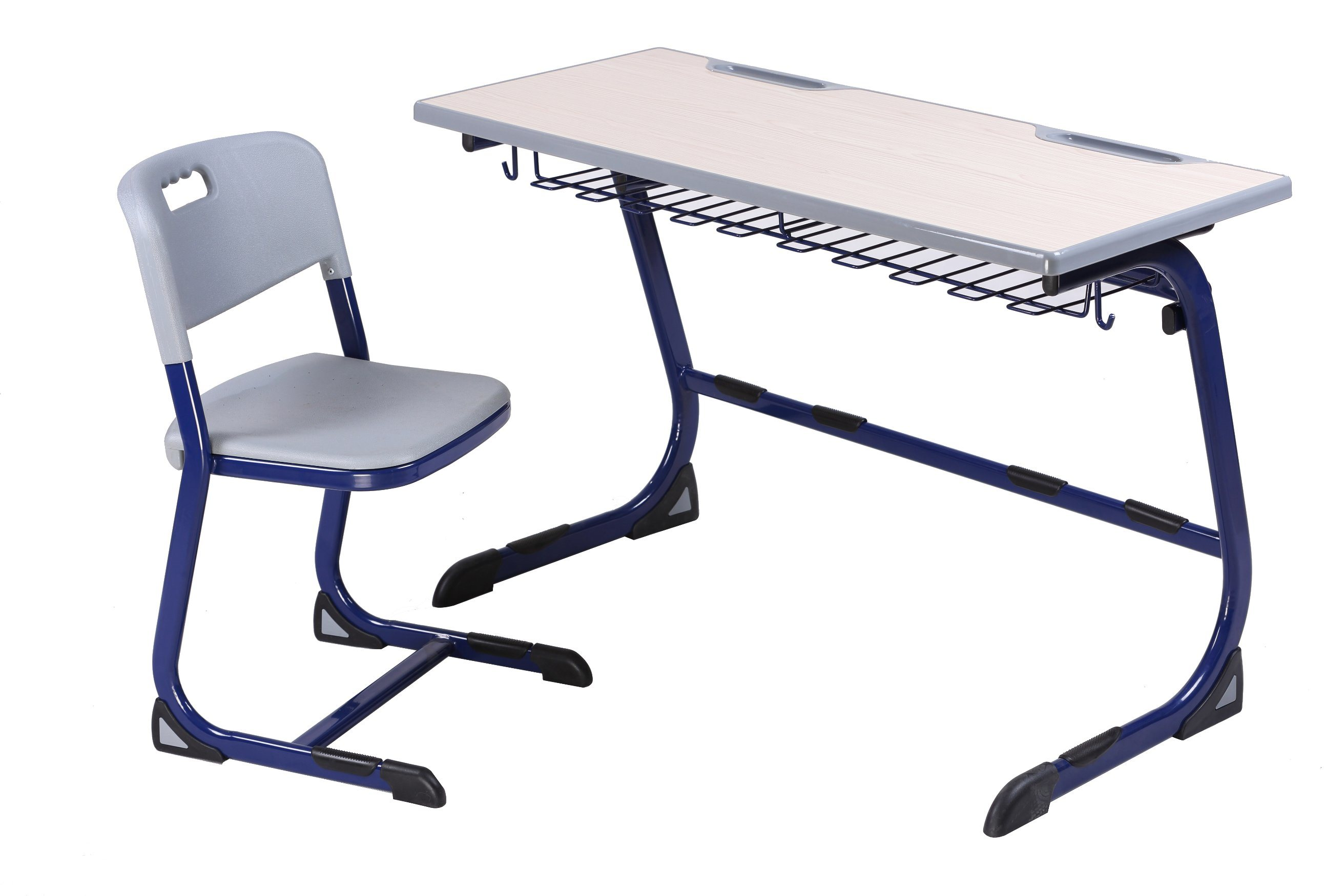 School Classroom Student Double Desk and Chair