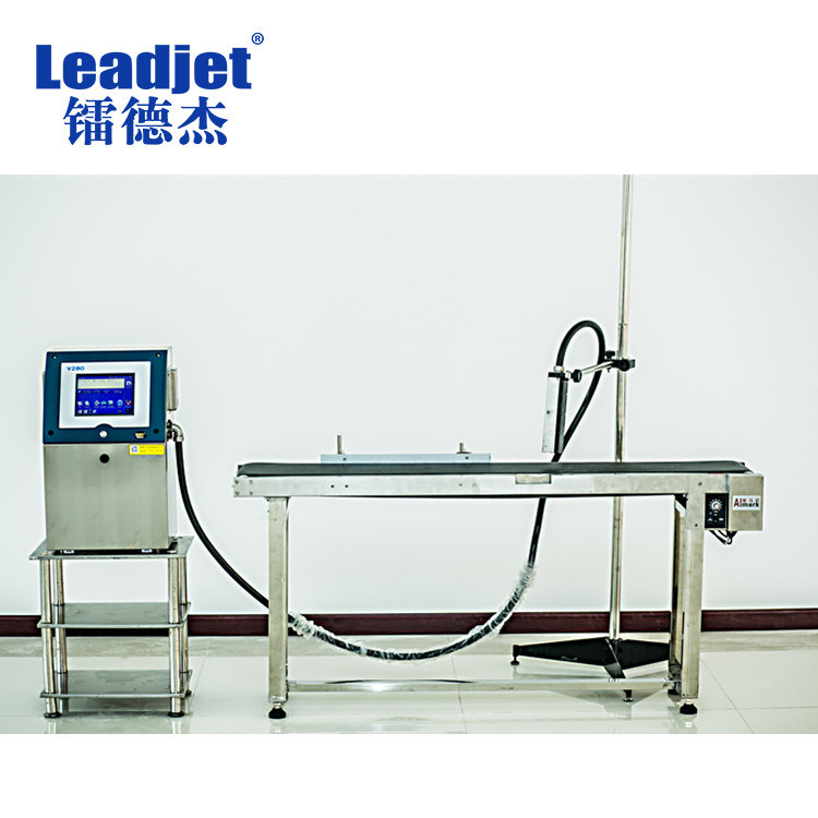 Factory Price Continuous Automatic Batch Number Inkjet Coding Machine
