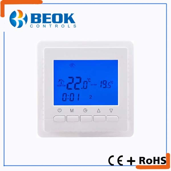 220V Wall Inserted Electrical Thermostat with Ce Certification