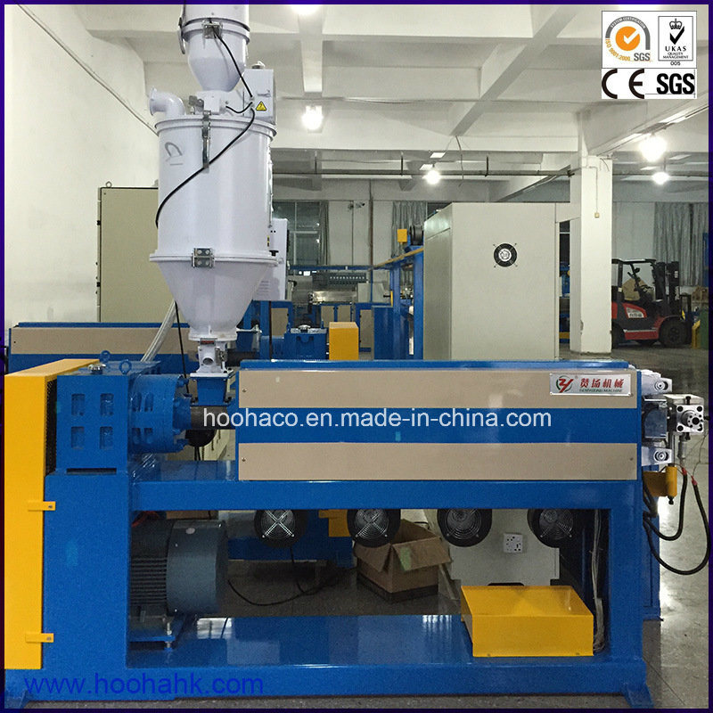 High Effective Wire Cable Jacket Sheath Extruder Machine Line