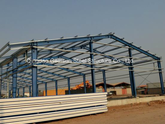 Pre-Engineered Steel Building for Industrial Applications