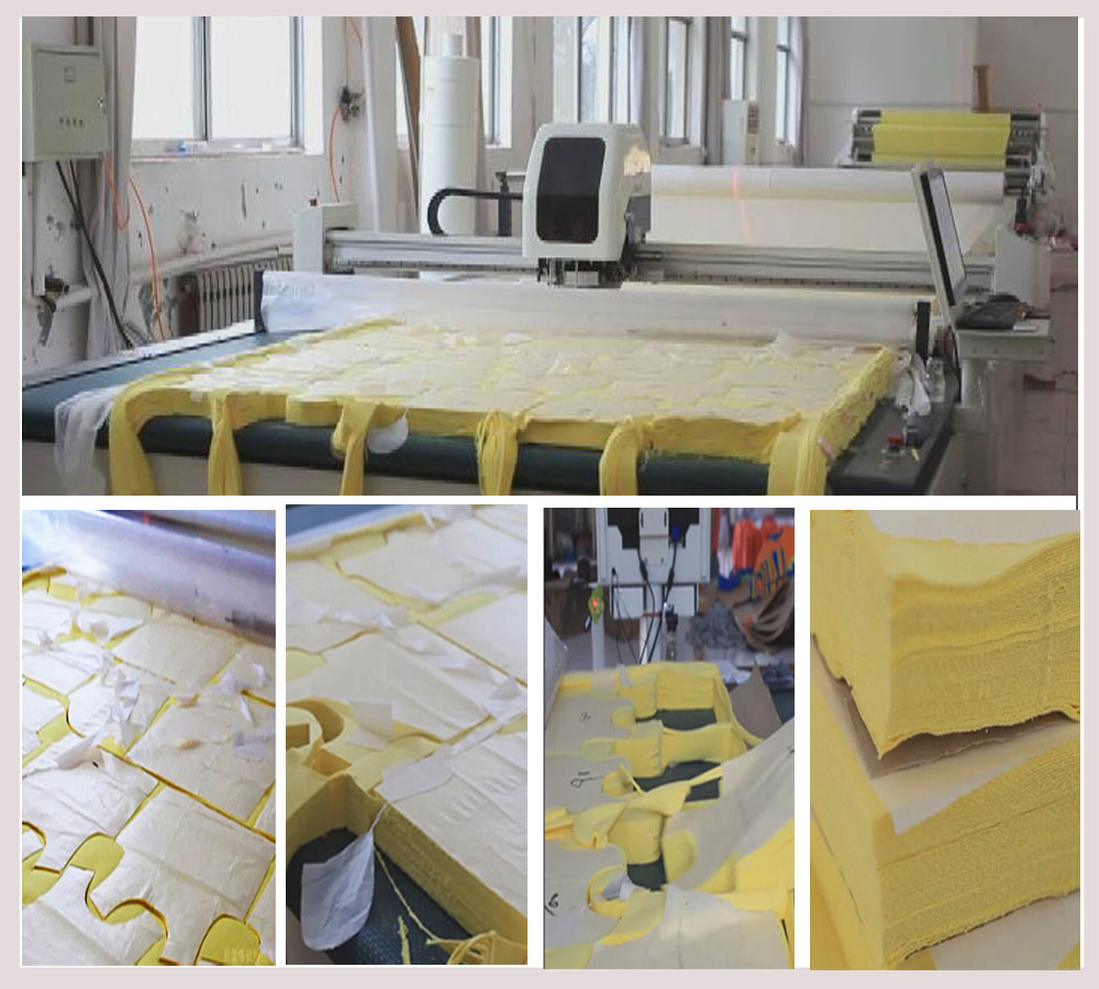 Width 2m Length 2.5m Polyester Cotton Fabric Cutting Machine