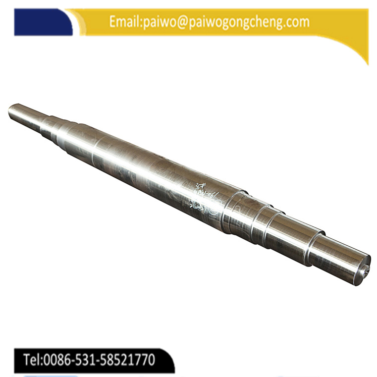 Customized Precision Forged ISO SAE8620 Shaft for Machine Parts