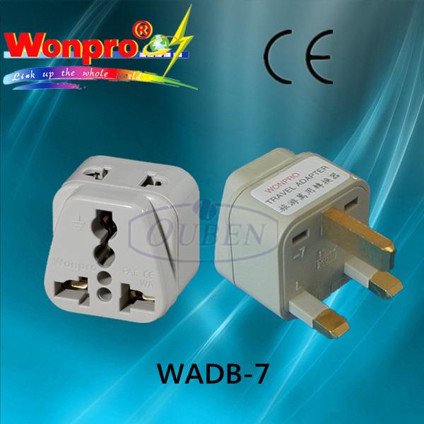 Travel Adaptor WADB-7 (Socket, Plug)