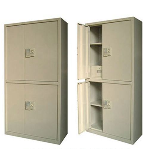 4-Door 4 Layers Steel Wardrobe Office Locker Steel Cabinet