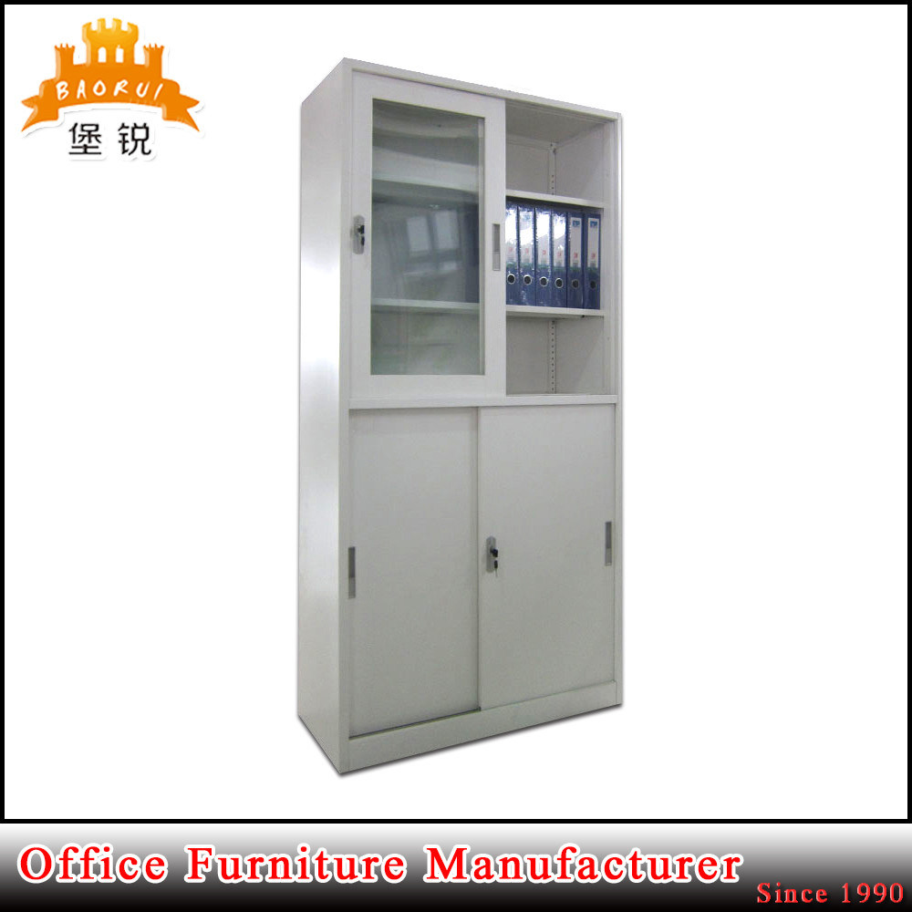 China Steel Multi Purpose Large Capacity Glass Sliding Door Office