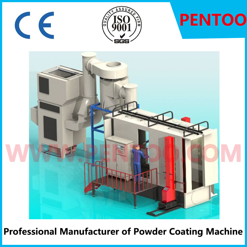 Automatic Lifting Reciprocator for Aluminium Profiles in Powder Coating Line