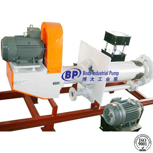 High Chrome Alloy Vertical Slurry Pump