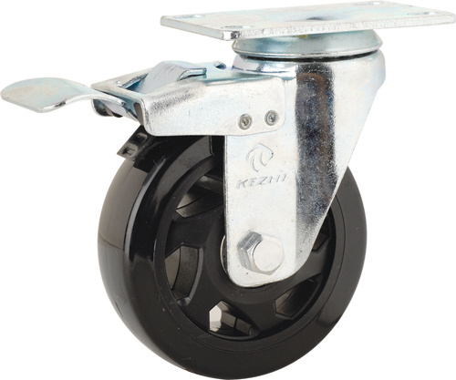 Medium Duty Type PVC Caster Wheel (KMx4-M14)
