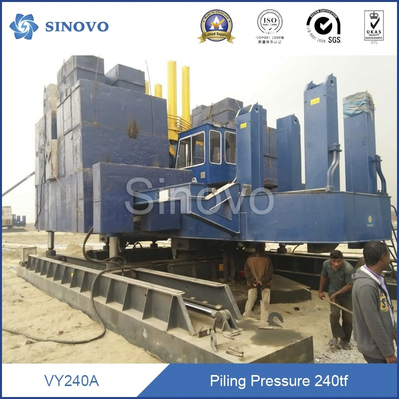 2016 Hydraulic Static Pile Driver for hot sale with cheap price and unique design