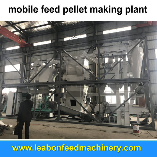 Homemade Farm Small Flat Die Feed Pellet Machine